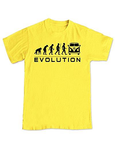 Shaw Tshirts -  T-shirt - T-shirt  - Maniche corte  - Uomo Yellow XX-Large