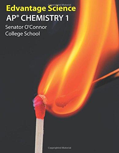 Ap Chemistry 1: Senator O'Connor College School
