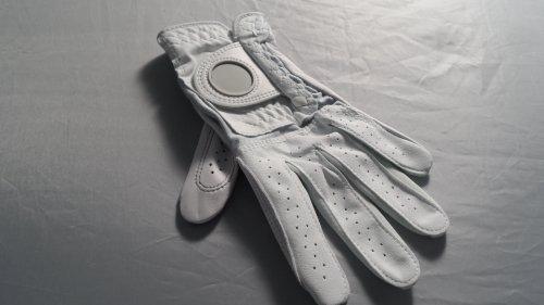 Etonic G> Sok Custom Guanto sinistro da Golf, da donna, taglia M, colore: bianco
