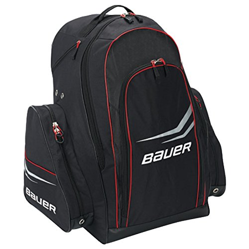 Bauer Premium S14 Large Hockey Carry Backpack Bag Black 1043315 (Wheeled Hockey Bag compare prices)