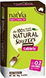 Natvia Tablets (200 Tablets) - Made from 100% Natural Sources