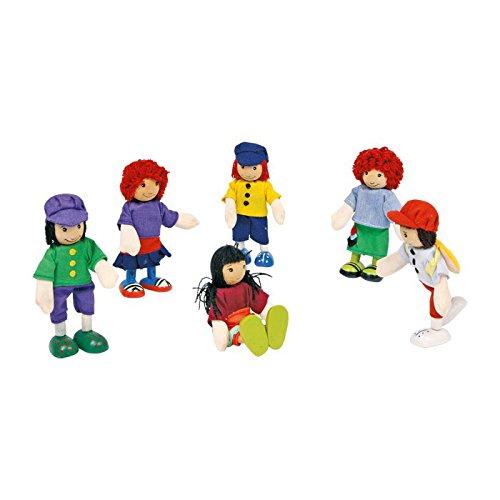 small-foot-company-2955-figuras-articuladas-de-madera-6-unidades