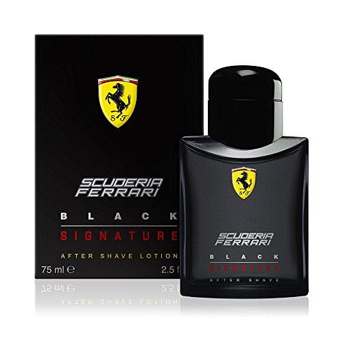 Ferrari Scuderia Black Signature Lozione Dopobarba, 75 ml - 1 Unità