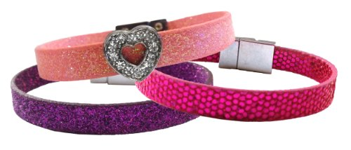 Zorbitz Click-Itz Bracelet, 3-Pack, Assorted Color