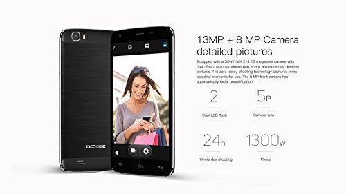 Doogee-T6-Pro-Android-60-Smartphone-55-pouces-3GB-RAM-32GB-ROM-6250-mAh-batterie-64bit-Octa-noyau-15GHz-130MP-camra-arrire-ultra-mince-99mm-rapide-OTG-de-charge-blanc