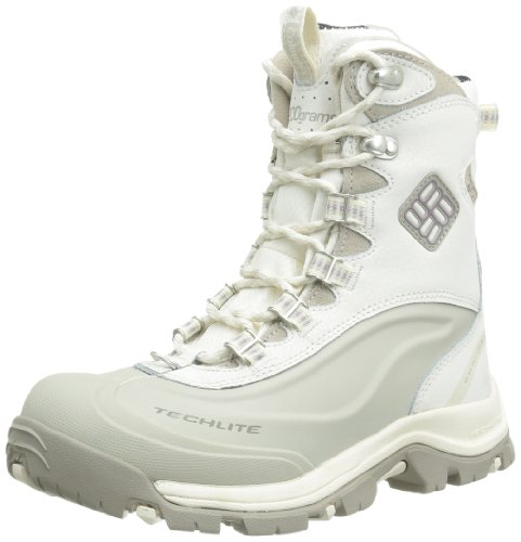 Columbia Bugaboot Plus II Omni-Heat Stivali Invernali, Bianco(Winter White/Daybreak), US 5/EU 36