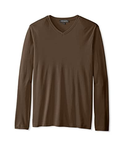 Robert Barakett Men's Georgia Hi V-Neck Shirt