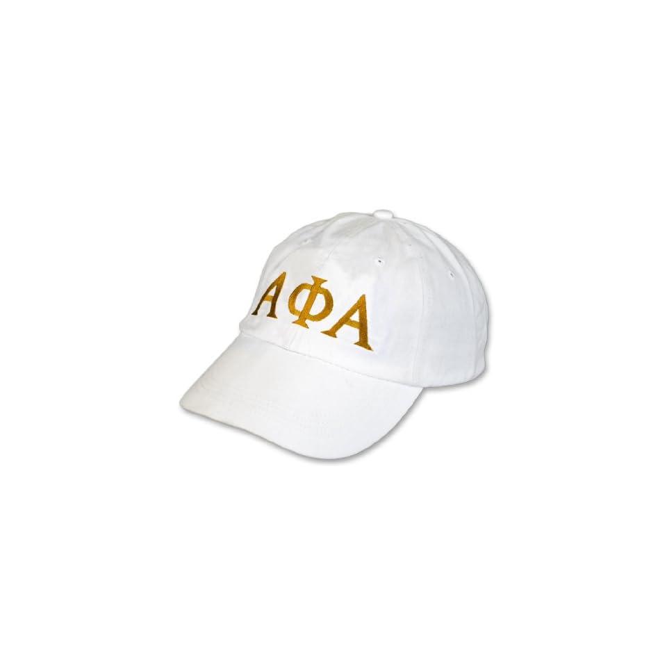 Alpha Phi Alpha Letter Hat on PopScreen 992a5a85f425