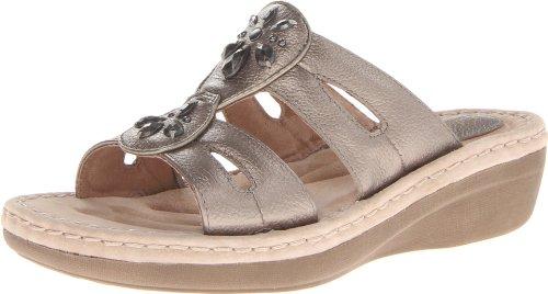 Clarks Women'S Posey Lynn Wedge Sandal,Grey,6 M Us front-981488