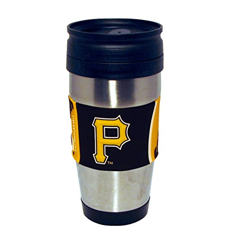 mlb-pittsburgh-pirates-stainless-steel-travel-tumbler-with-pvc-wrap-15-ounce-team-color-by-hunter-mf