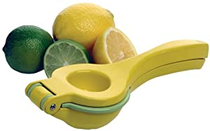 Amco 8-Inch Two-in-One Lemon Juicer/Squeezer