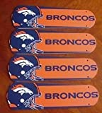 Ceiling Fan Designers 42SET-NFL-DEN NFL Denver Broncos Football 42 In. Ceiling Fan Blades Only at Amazon.com