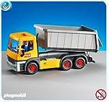 Playmobil camion chantier d 39 occasion 75 pas cher - Playmobil camion chantier ...