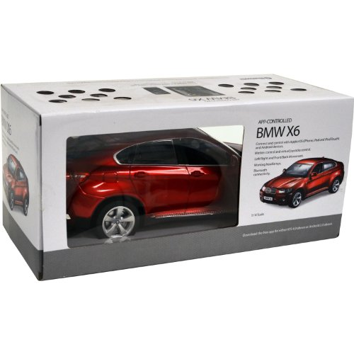 Review iCess BMW X6 iCess App Controlled Car, Red