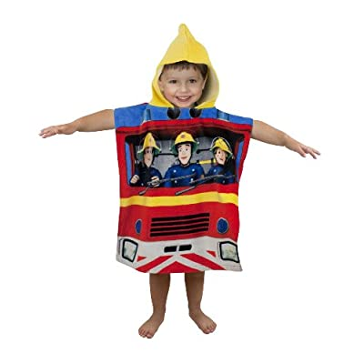 Character World Fireman Sam Rescue Hooded Poncho