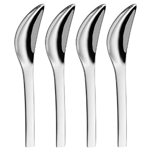 WMF Vela Stainless Steel Grapefruit Spoons, Set of 4 at Sears.com