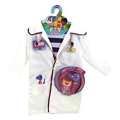 Disney Doc McStuffins Doctors Coat & Bonus Accessories