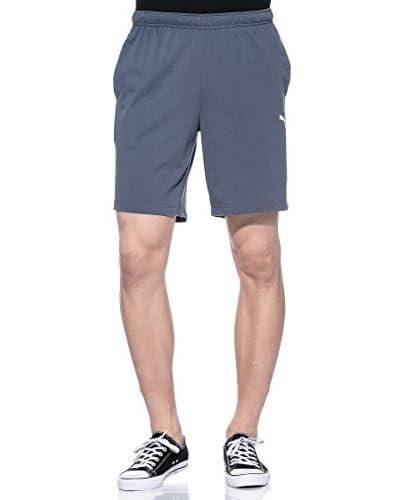 Puma Shorts Ess Jersey Bermuda [Ombre Blue-White]