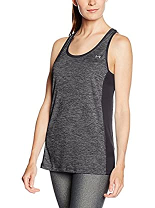 Under Armour Top Tech Tank - Colorblock (Negro / Gris)
