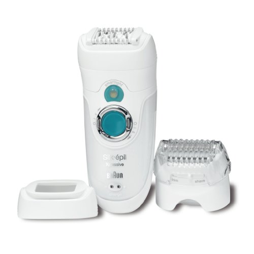 Braun SE7281WD Xpressive Body System Rechargeable Wet & Dry Epilator