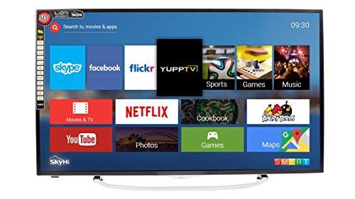SkyHi SK50K70 127cm (50 inches) Full HD Smart LED TV (Silver)