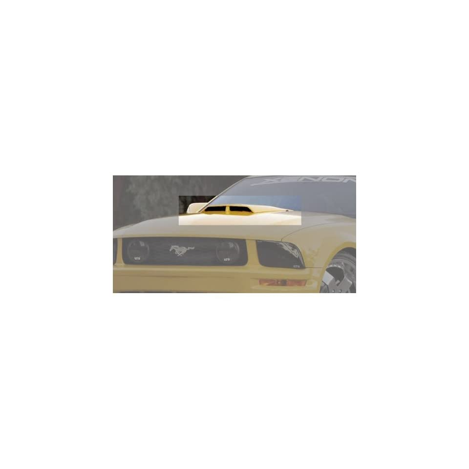 Xenon 12138 05 11 Ford Mustang Ram Air Style Hood Scoop   Unpainted