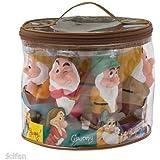 Disney Snow White Seven Dwarf Pool Bath Tub Toy Set