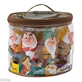 Disney Snow White Seven Dwarf Pool Bath Tub Toy Set