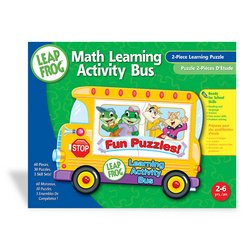 LeapFrog: Math Learning Activity Bus Tray Puzzle - 1