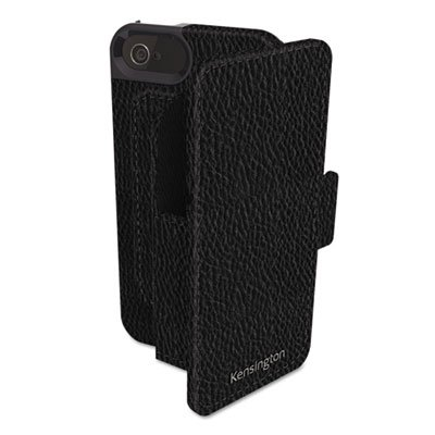 Kensington-Portafolio-Duo-Folio-Wallet-Case-and-Stand-for-iPhone-5-1-Pack-Carrying-Case
