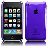 Purple Slim Crystal Back Case Cover See Through for iPhone 3G 3GS Keep Talking iPhone Casesby The Keep Talking Shop