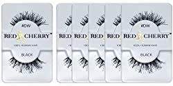 Red Cherry DW False Eyelashes (Pack of 6 Pairs)