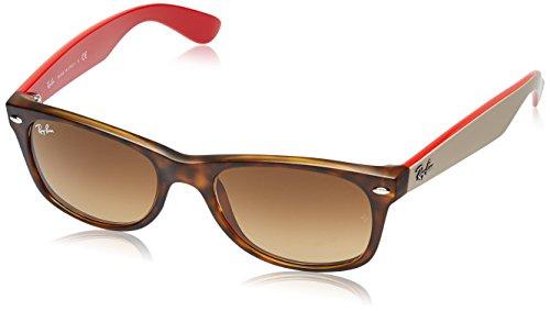 ray-ban-unisex-sonnenbrille-rb2132-gr-52mm-gestell-braun-havanna-glaser-braun-verlauf-dunkelbraun