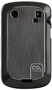 Case-Mate Brushed Aluminum Barely There Case for BlackBerry Bold Touch 9900/9930 - 1 Pack - Case - Retail Packaging - Silver
