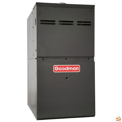 Find Cheap Goodman GMS80804BN Gas Furnace, Single-Stage Burner/Multi-Speed Blower, Upflow/Horizontal...