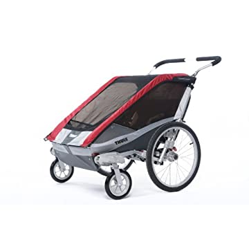 Thule Chariot Cougar Stroller (Red)
