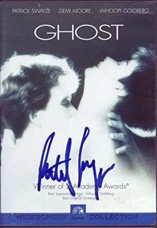 PATRICK SWAYZE signed *GHOST* DVD cover Academy Award ...
