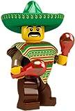 LEGO Collectable Minifigures: Mexican Mariachi Maraca Man Minifigure (Series 2) (Bagged)