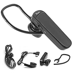 Bluetooth headset, iKare Multipoint Music Streaming Headset for Apple iPhone, Smartphones and Tablets (Black)