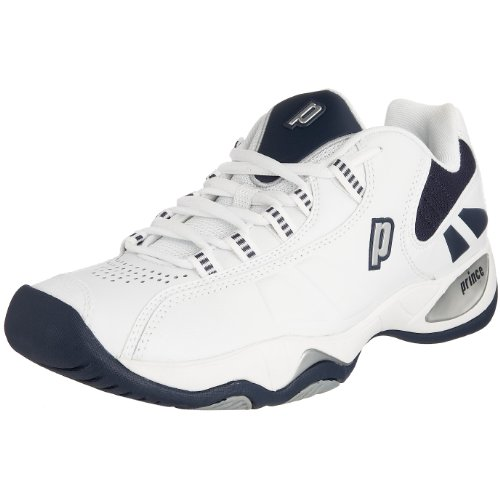 Prince T7 Men's Tennis Footwear White/Navy 5 UK
