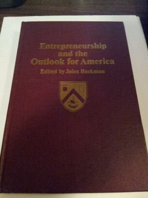Entrepreneurship and the Outlook for America PDF