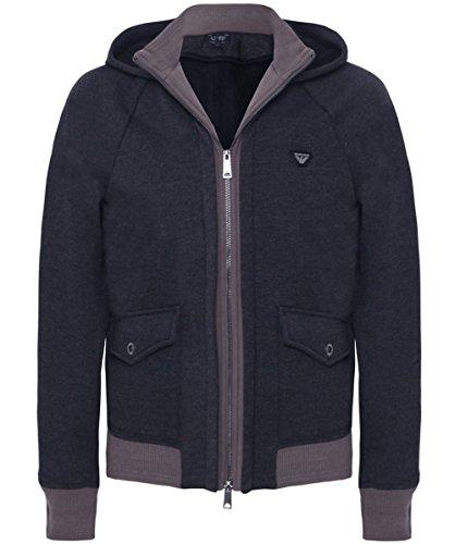 armani-jeans-mens-contrast-cuff-hoodie-grey-xl