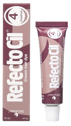 RefectoCil Cream Hair Dye (Chestnut) .5oz
