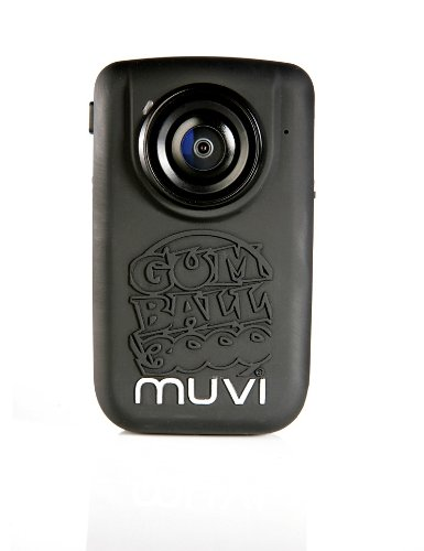 Veho VCC-005-HDGUM Gumball 3000 Edition Muvi HD 1080p Mini In Car/Action Camcorder with Remote Control and Car Suction Mount