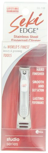 Seki Edge Stainless Steel Fingernail Clipper Image