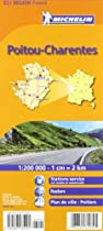 Michelin Map Poitou-Charentes, France (Michelin Maps)