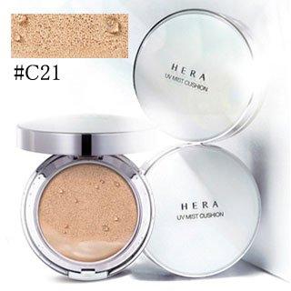 hera ヘラ UV ミスト クッション #C21 COOL VANILLA COVER SPF 50+ PA+++ 15g x 2