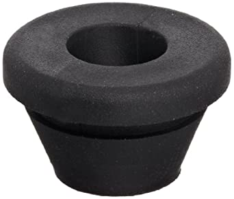 "PVC (Polyvinylchloride) Quick Fit Grommet, .53"" OD, .32"" Thickness for .06"" Panel (Pack of 25)"