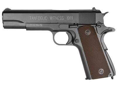 Tanfoglio Witness 1911 Co2 Bb Pistol Brown Grips Air Pistol from Tanfoglio