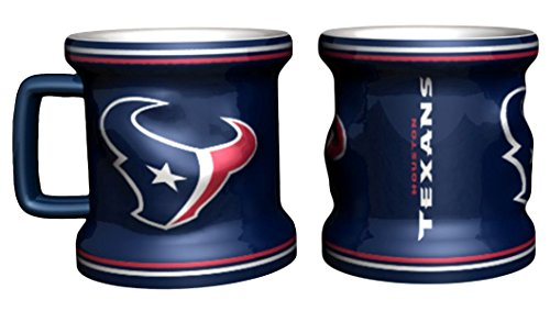 Houston Texans Shot Glass - Sculpted Mini Mug (Houston Texan Coffee Cup compare prices)
